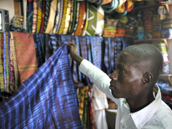 fabric salesman