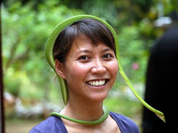 snake tiara