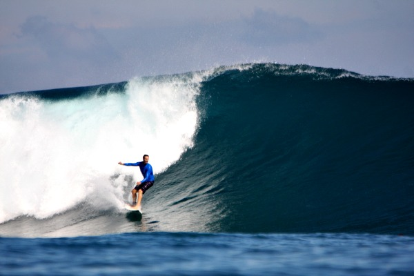 Unknown dude at Scar Reef. Photo: Indra