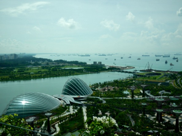 view marina bay sands